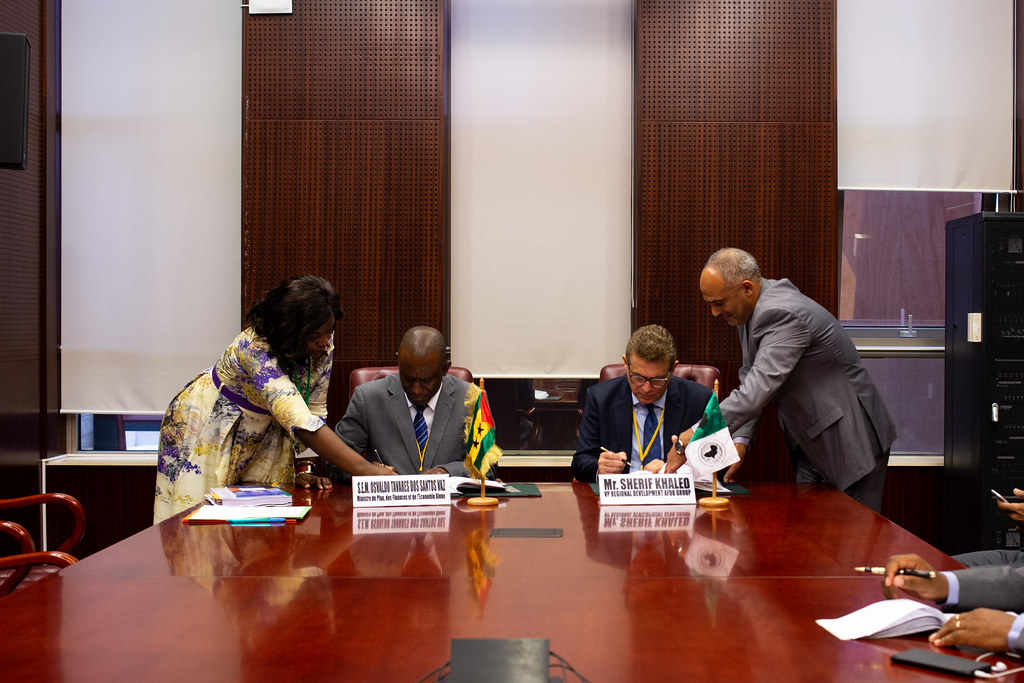 Malabo AfDB Annual Meetings Day 3 - Signature Ceremony Between Sao Tomé-et-Principe and the AfDB