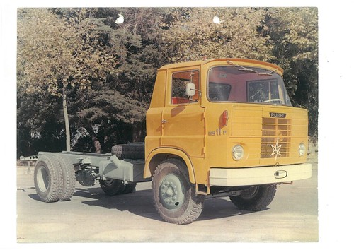 camió Rubel HS11 cabina groga