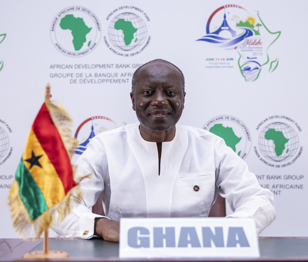 Malabo AfDB Annual Meetings Day 3 - Ken Ofori-Atta, Ministry of Finance for Ghana