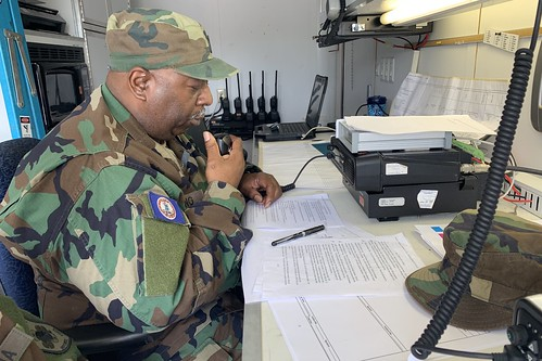VDF takes part in multi-state, multi-agency commo exercise