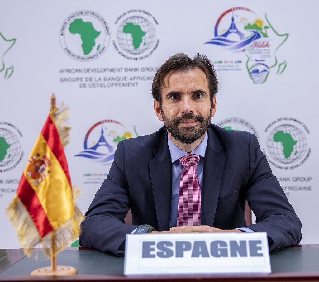 Malabo AfDB Annual Meetings Day 3 - Alberto Sabido, Assistant Deputy Director for Multilateral Financial Institutions for Spain