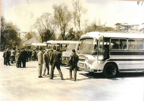Presentació vehicles LAI i Henschel Hispania al parc de la Ciutadella