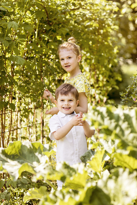 Prinses Estelle en Prins Oscar van Zweden (2019)