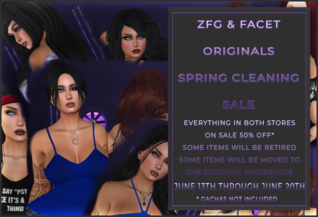 ZFG & FACET ORIGINALS SPRING CLEANING SALE