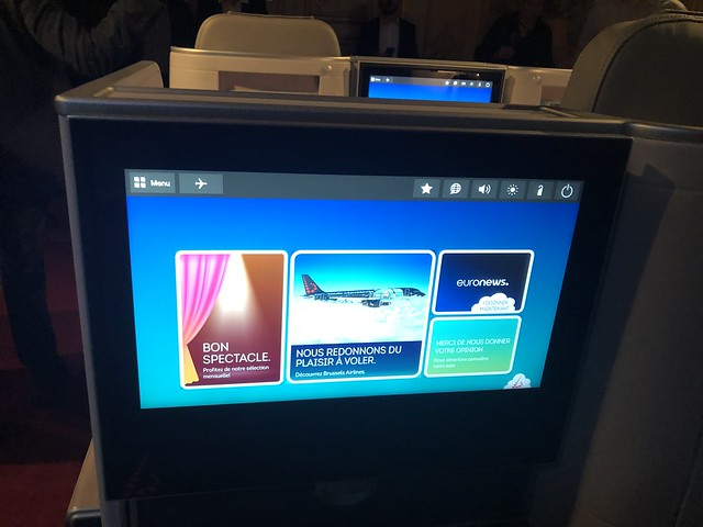 Business Class Brussels Airlines