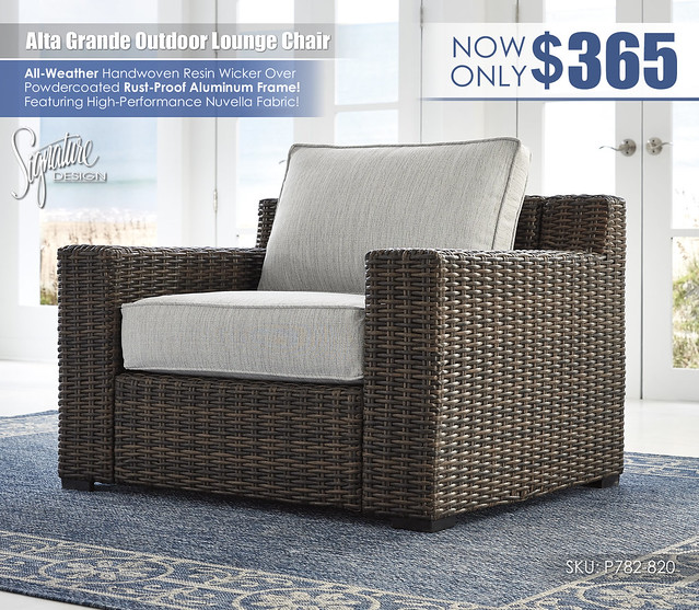 Alta Grande Outdoor Lounge Chair_P782-820