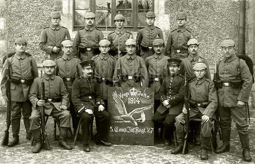 """Infanterie-Regiment """"Prinz Louis Ferdinand von Preußen"""" (2. Magdeburgisches) Nr. 27"""