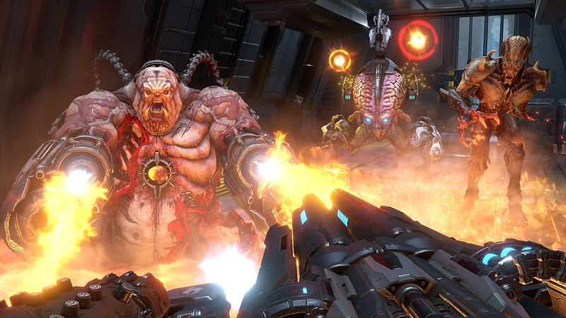Doom Eternal on PS4