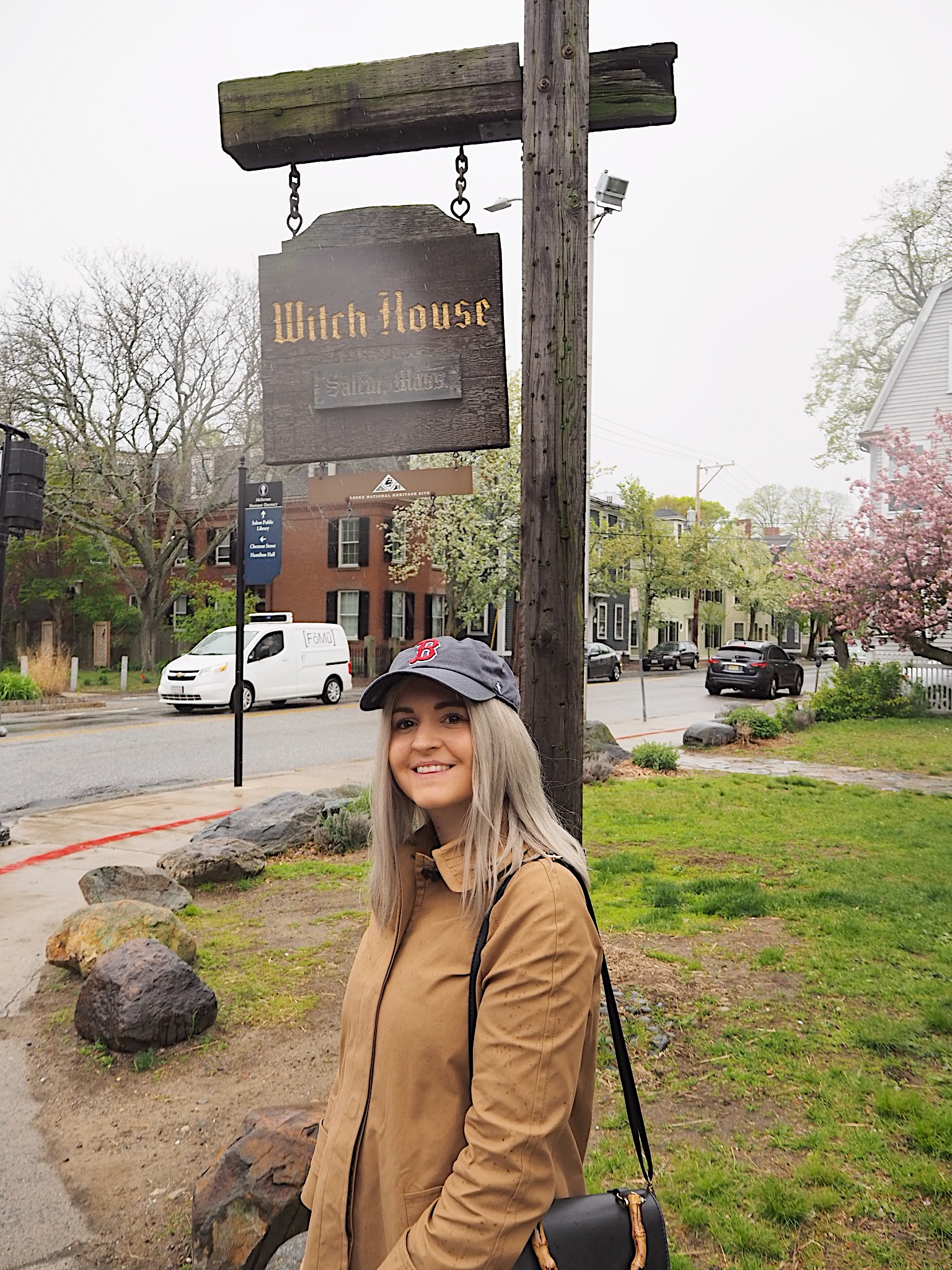 what to do in Salem visiting the witch house