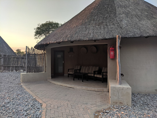 our waterhole chalet #5