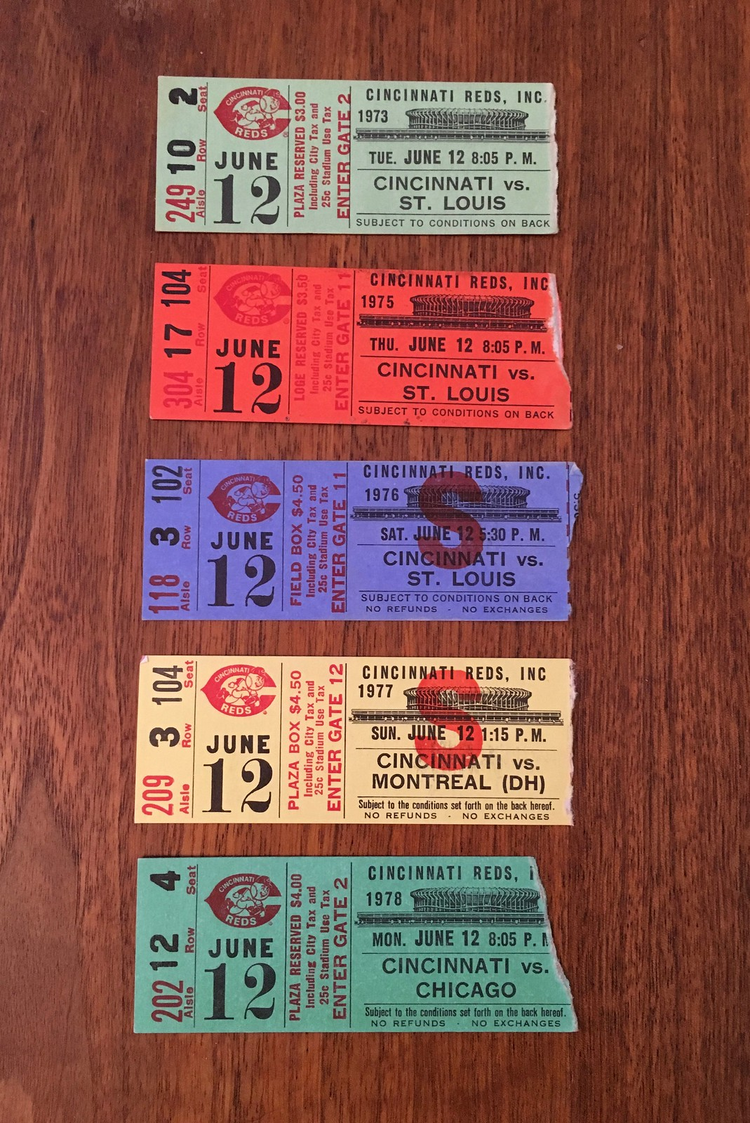 a0a41c00 A Very Unusual Ticket Collection | Uni Watch