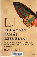 Mario Livio, La ecuación jamás resuelta