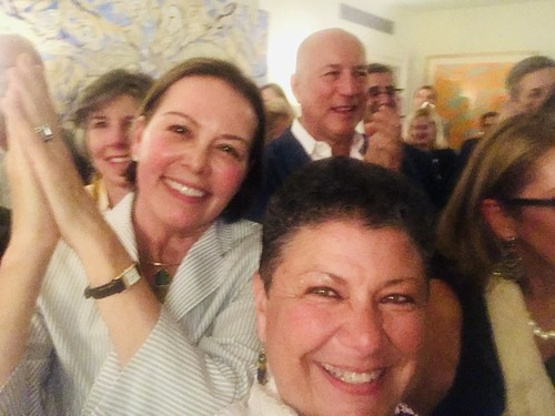 Beth Arroyo Utterback and Guardians of the Groove at NYC Fundraiser event - June 12, 2019.