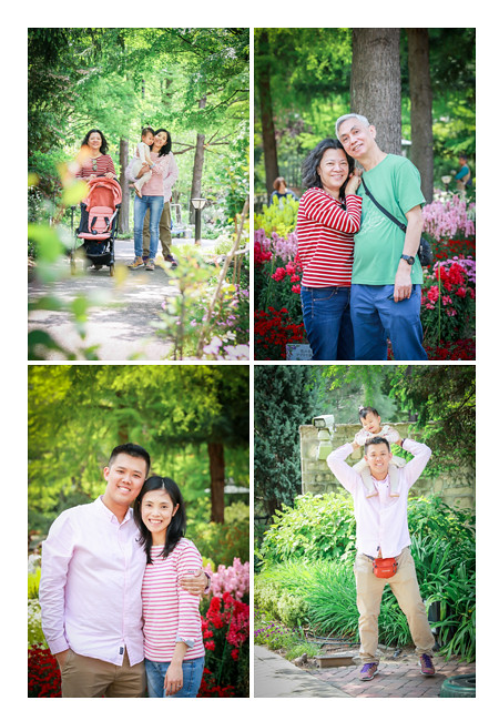 family photo session in Nagoya, Japan, on vacation, professional photographer