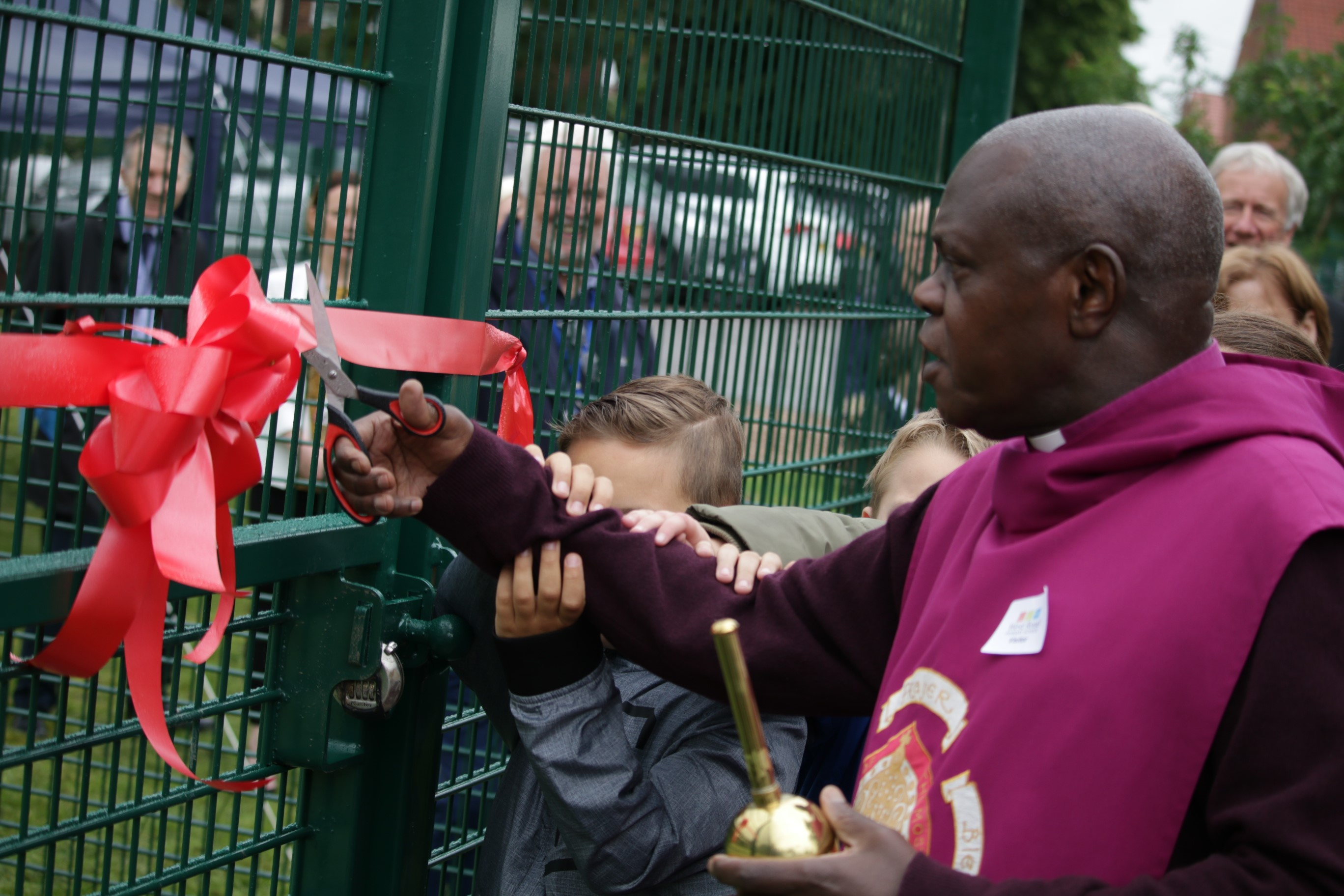 Archbishop of York visit to West Road Primary School Doncaster