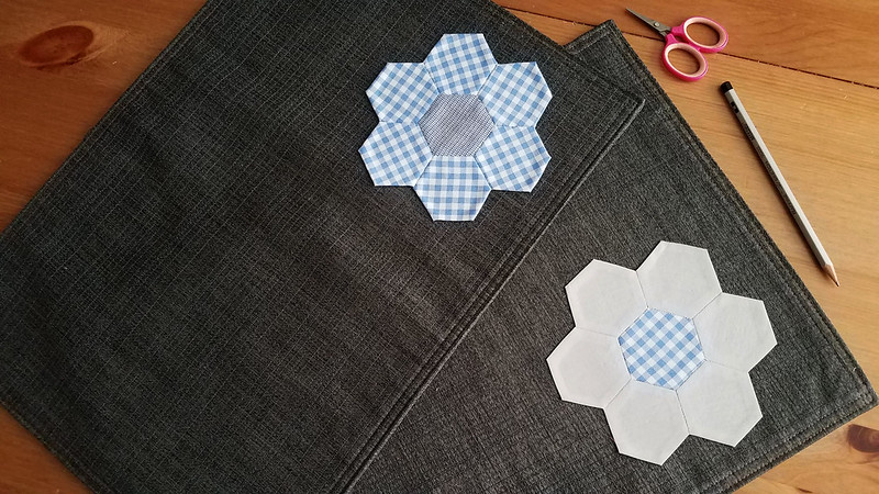 Hexagon placemats