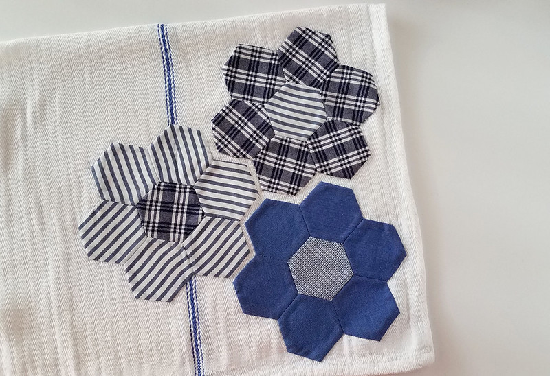 one more hexagon towel