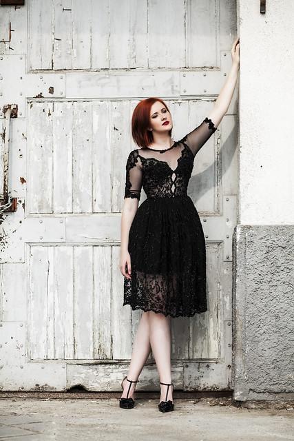 Magical black dress 3