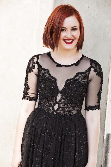 Magical black dress 5
