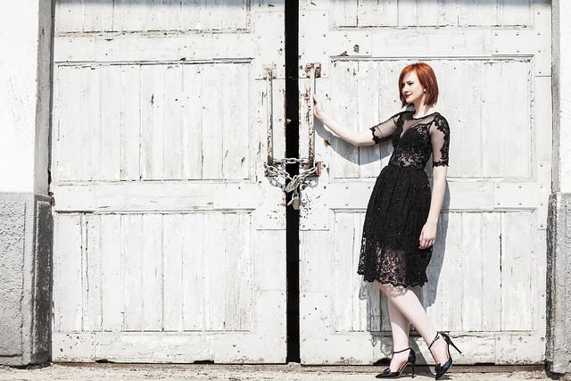 Magical black dress 1