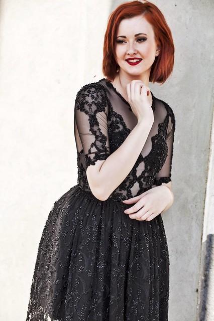 Magical black dress 4