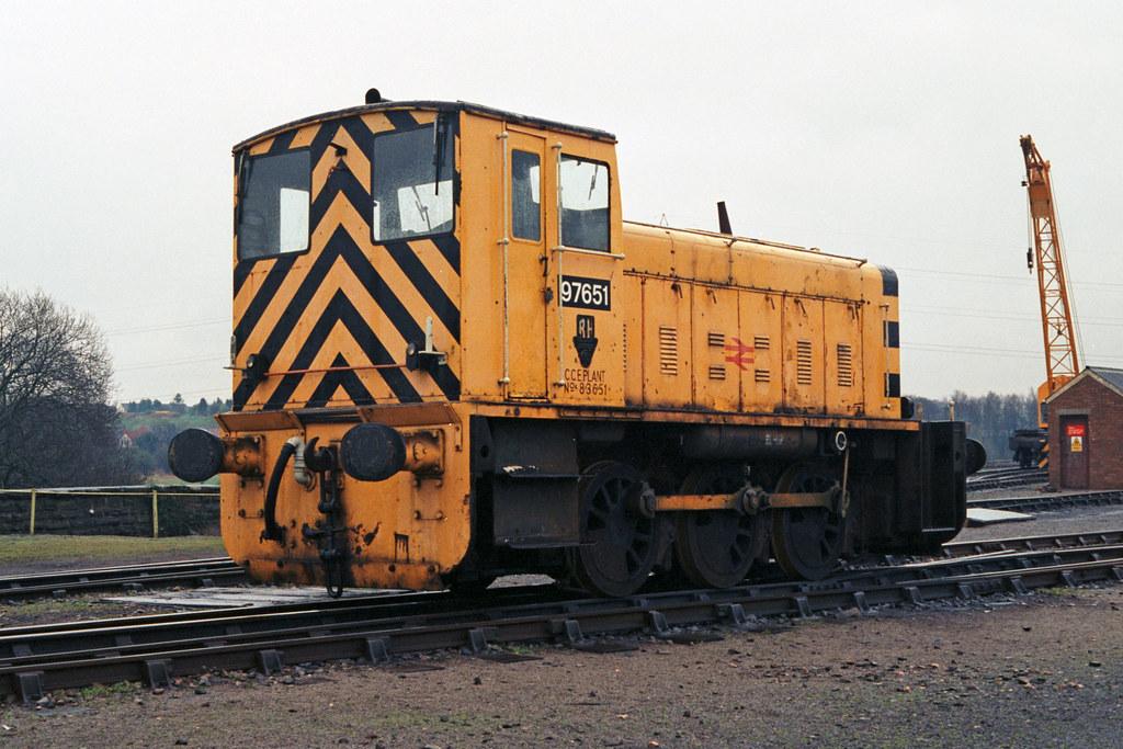 97651 at Radyr on 21st March 1993