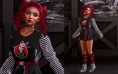 Red/Black/White - Free look