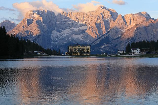 Lake Misurina,Dolomites,Italy