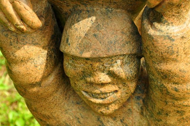Skulpturenpark Ilvesheim Mai 2019 (3) ... Details ... Foto: Brigitte Stolle