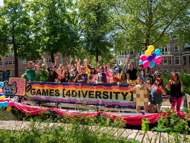 Games [4Diversity] @ Utrecht Canal Pride 2019