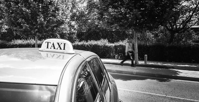 ¿Te vas? ¿ Me abandonas? Mira que te pago el taxi...