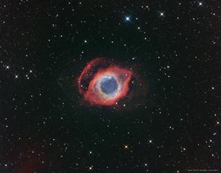 NGC7293 Ha-OIII-LRGB