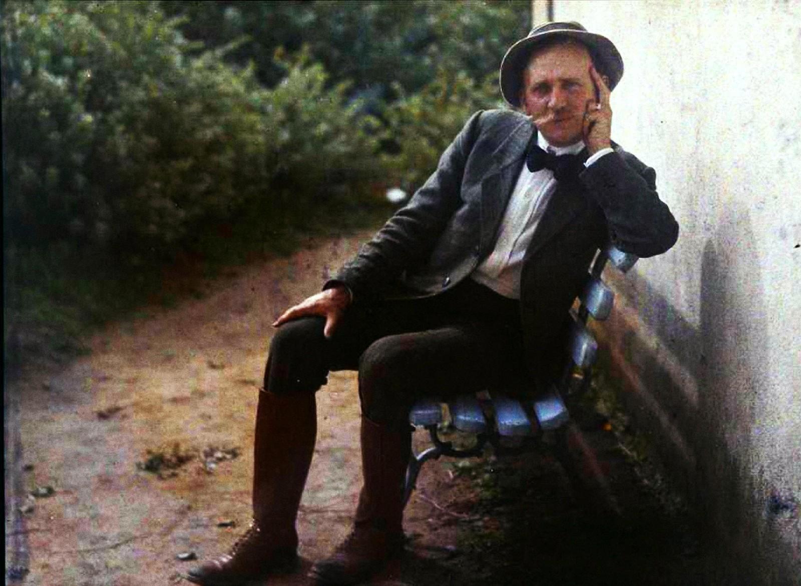 1910. Гюстав Гейн