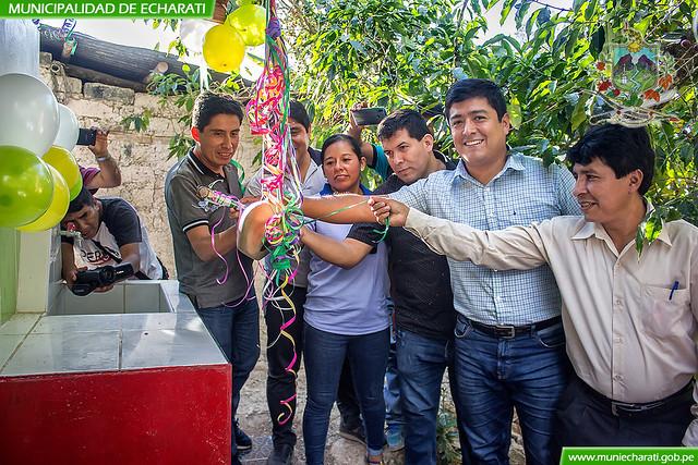 MDE pone en funcionamiento sistema de saneamiento básico en Ramospata