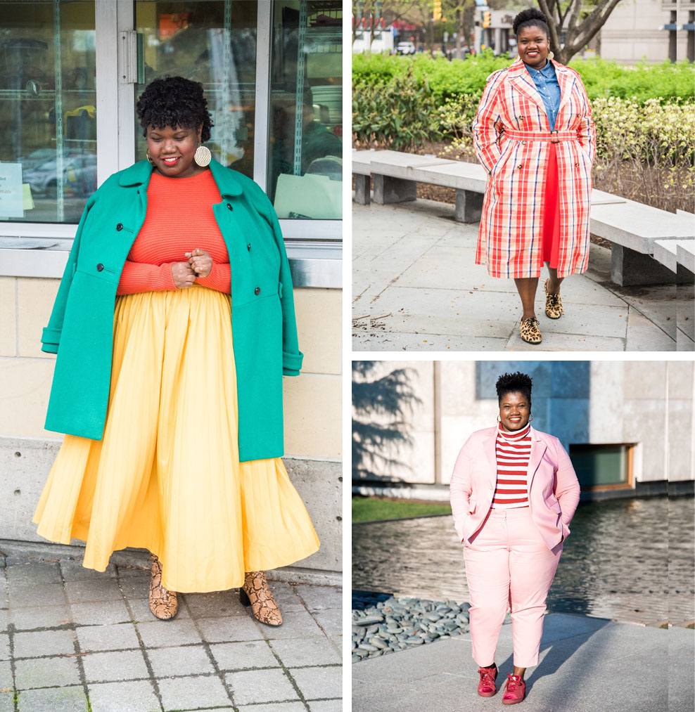 14 Plus Size Fashion Bloggers You Should Know (Georgette of Grown and Curvy Woman)