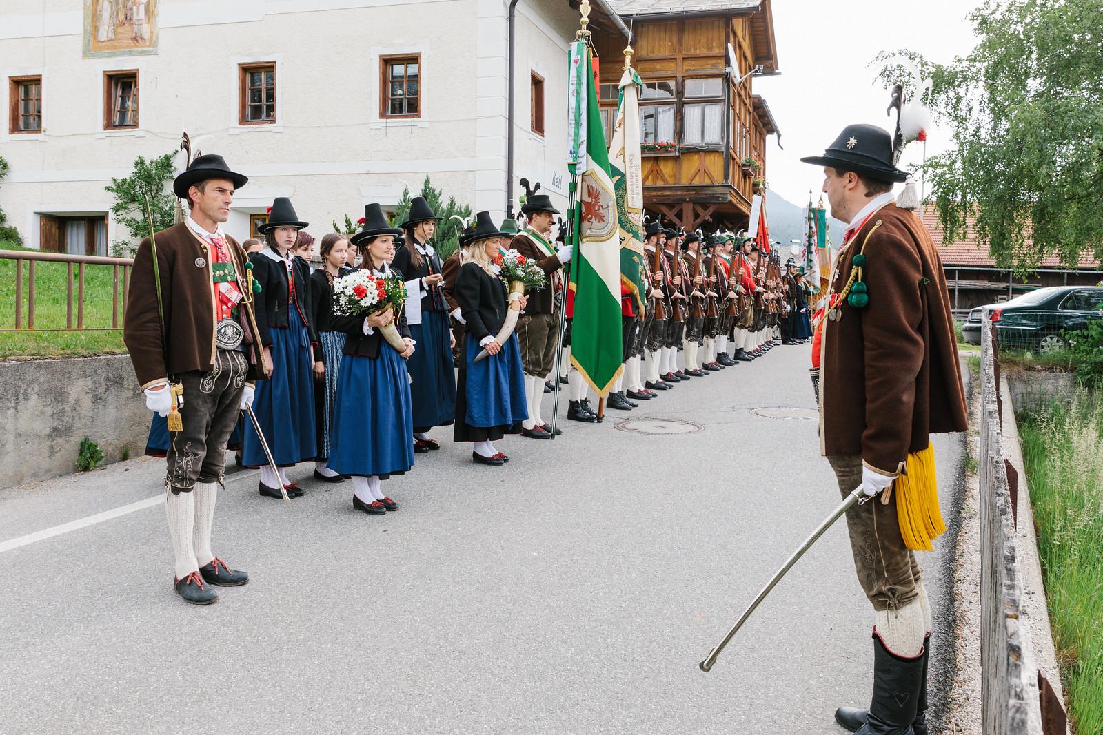 60-Jahrfeier der Schützenkompanie Taisten, 10.06.2019