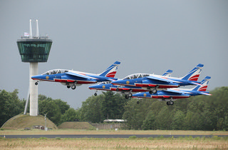 Patrouille de France take off | by Evelakes67