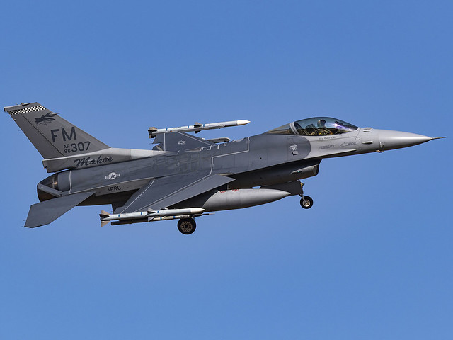 United States Air Force | General Dynamics F-16C Fighting Falcon | 86-0307