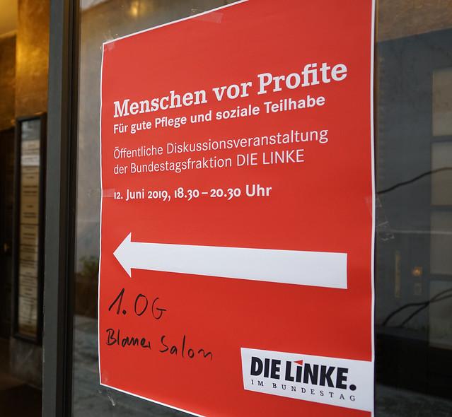 12.06.2019 Menschen vor Profite, für gute Pflege und soziale Teilhabe, Leipzig