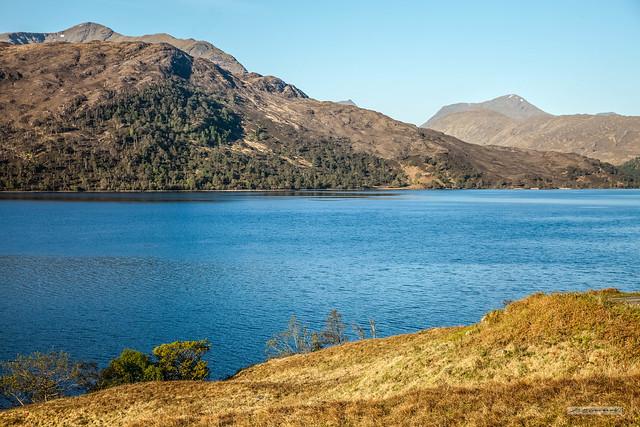 Towards Knoydart at Loch Arkaig.