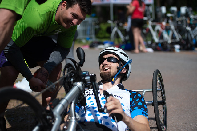 Cody Wills joins big day for adaptive athletes