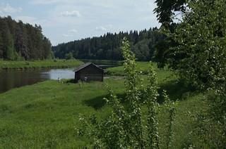 Hot day in Vasilevo