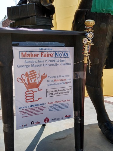 Maker Faire NoVa, June 2, 2019