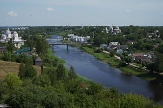 River Tvertsa. Torzhok.