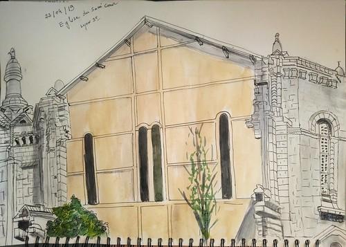 Eglise du sacré coeur. Lyon