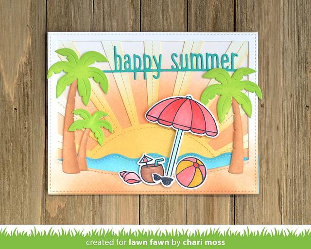 HappySummer_TropicalBackdrop_SunriseBackdrop_StitchedSimpleWaveBorder_OnTheBeach_ChariMoss1