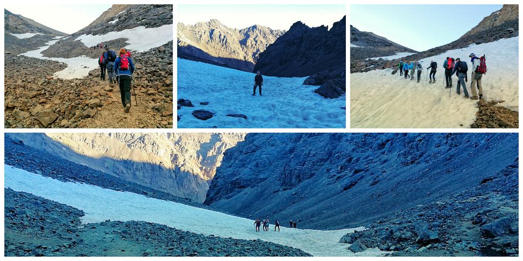 Snowy climbs, Mount Toubkal trek