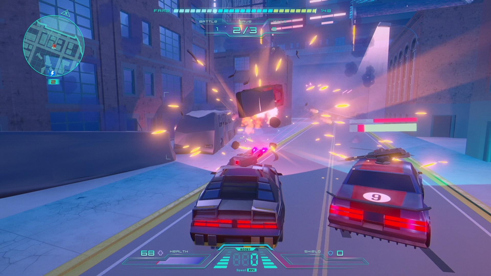 ナイトウルフ - 爆発