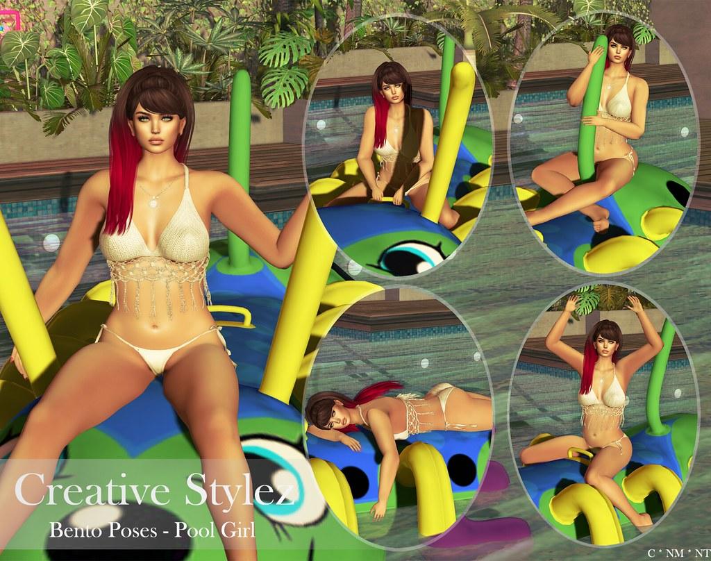 Creative Stylez - Bento Poses - Pool Girl - - TeleportHub.com Live!