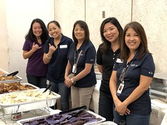 Hawaiian Electric at the Center for Tomorrow's Leaders Kupuna Prom — June 7, 2019: Mahalo to our employees for keeping everyone full.